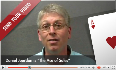 Daniel Jourdan Ace of Sales man