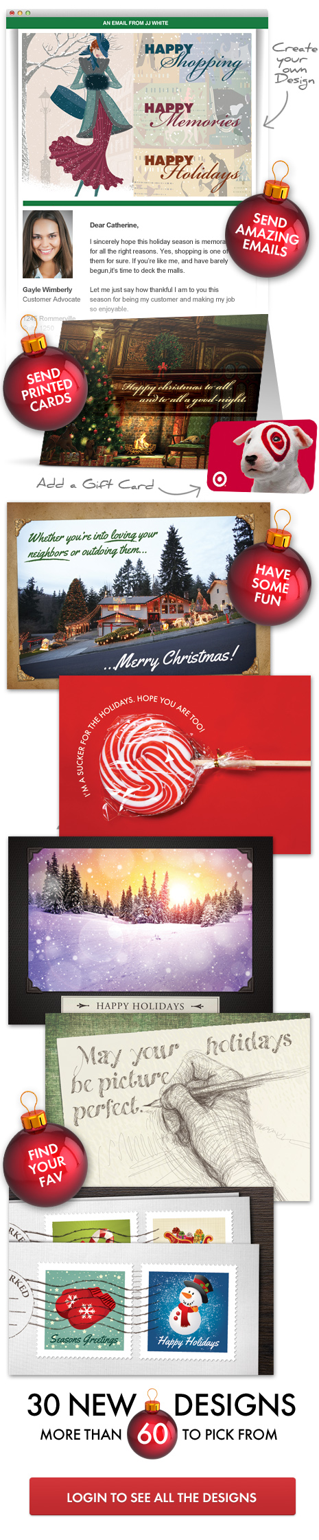 Make your own christmas card online