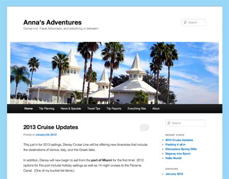 Anna Yott blog