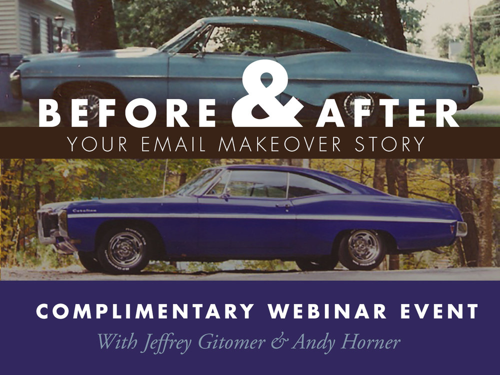Before After Your Email Makeover Story Webinar Ace Of Sales Blog
