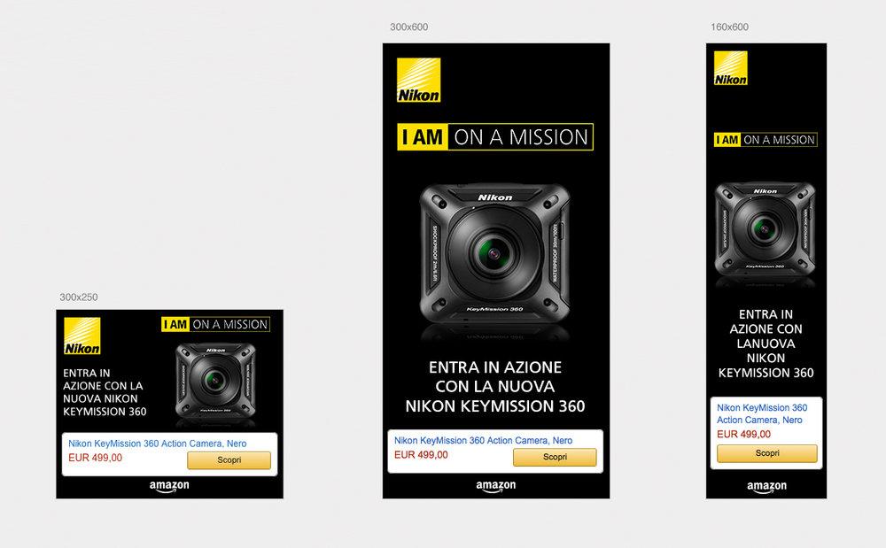 Nikon Keymission 360 - Amazon Italy