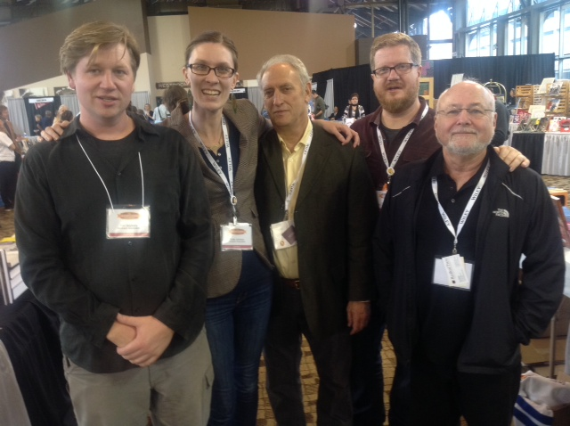 Ted, Emily, Stu, John & Roy at the Heartland Fall Forum 2014