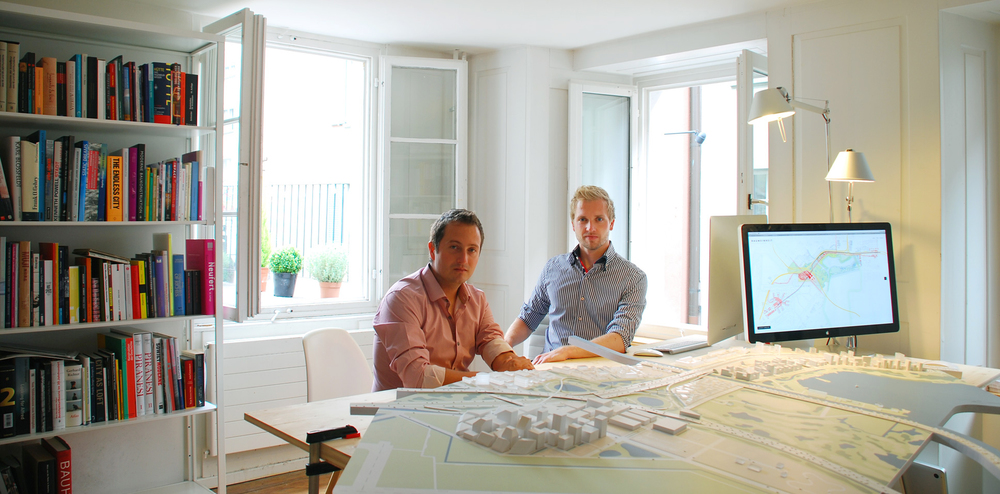The Two Partners Met During Their First Year Architecture Studies At ETH Zurich Before Coming To Switzerland Eric Had Graduated In