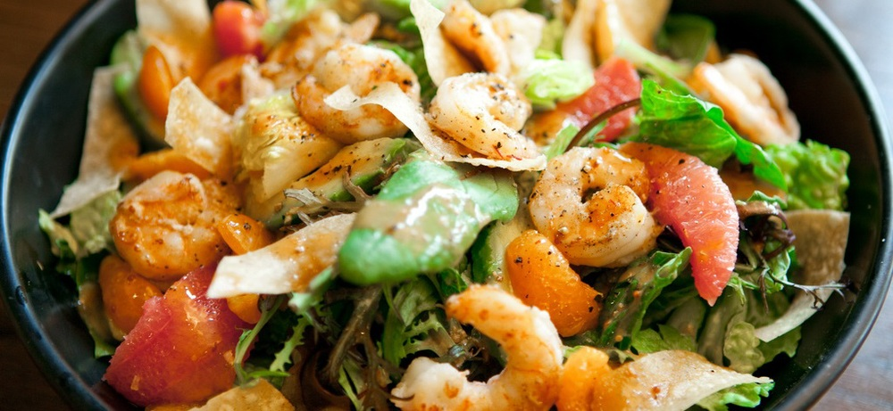 Baja Shrimp Salad