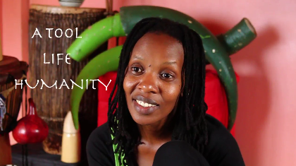 Rwandan director Hope Azeda, describing what theatre is to her