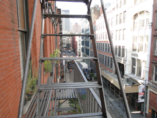 Crosby Fire Escape