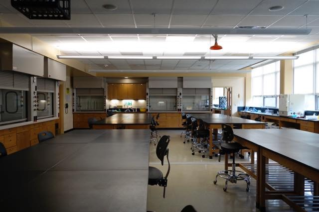 St. Elizabeth's college labs