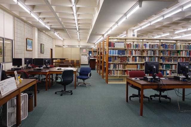 St. Elizabeth's college library
