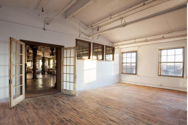 Baker Loft (Artist's studio possibility)