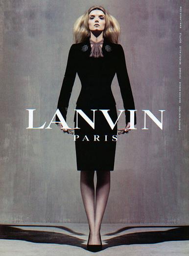 2005 AW lanvin lily donaldson