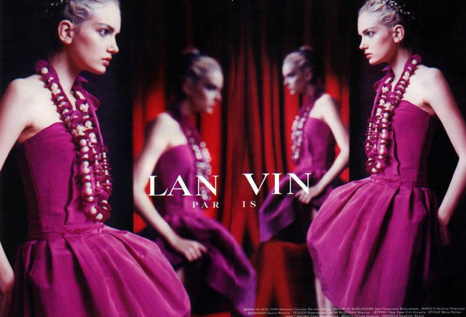 2005 SS lanvin lily donaldson