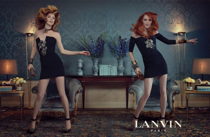 2011 AW Lanvin karen elson and raquel zimmermann