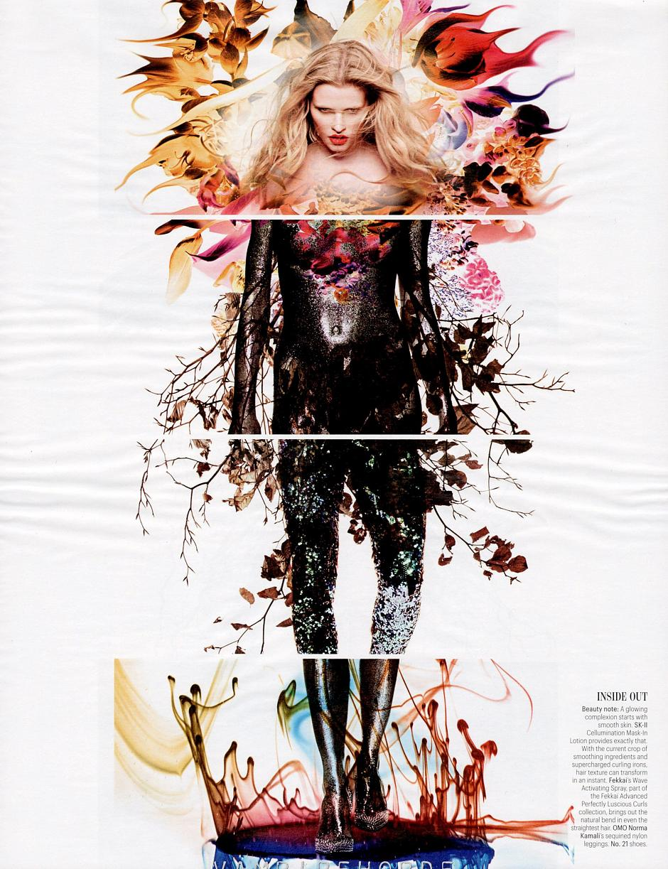 lara stone by sølve sundsbø for w magazine march 2012