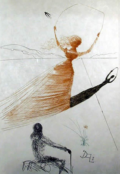 Salvador Dali ALICE