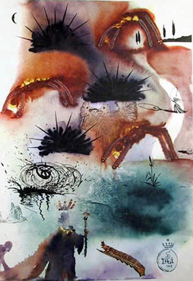 Salvador Dali THE LOBSTER'S QUADRILL