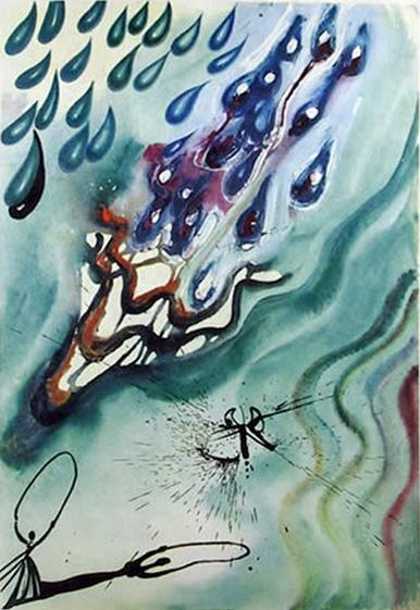Salvador Dali THE POOL OF TEARS