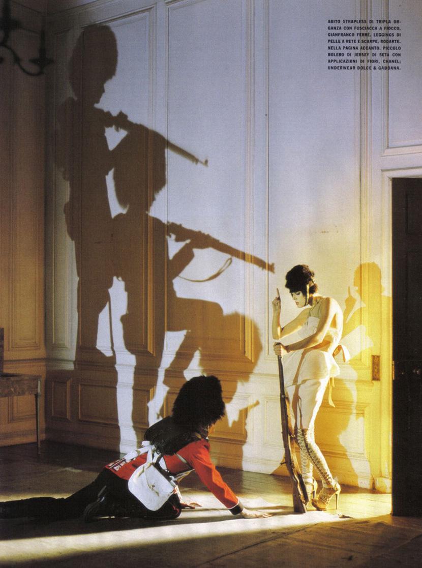 the fashion and the fantasy vogue italia 2009 malgosia bela