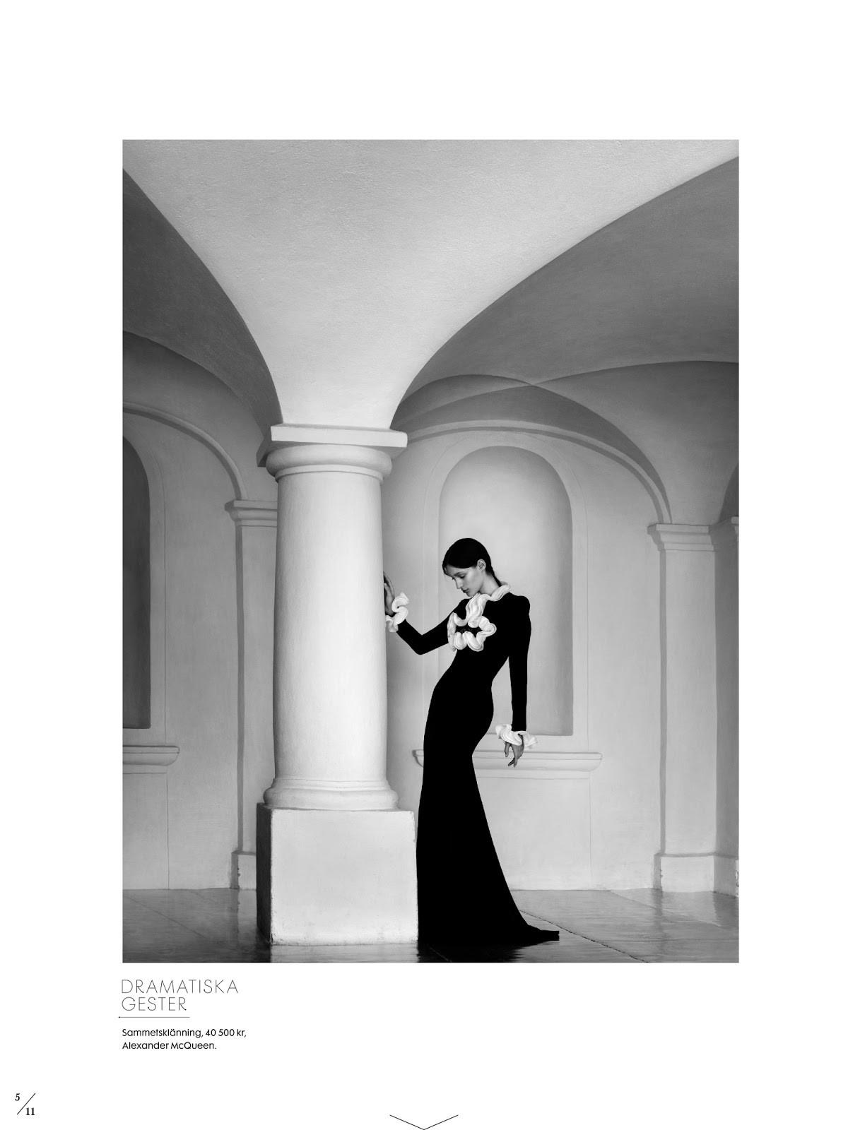 Balladen om Marie, Franzi Mueller by Julia Hetta for Elle Sweden