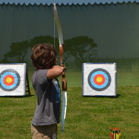 ARCHERY - try your hand at the ancient sport of archery and learn the skills and techniques to hit the target every time!