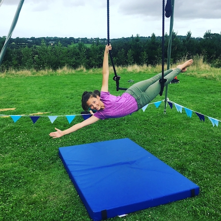 AERIAL DANCE - get your feet off the ground and take your world to new heights.Combining elements of aerial dance, mindfulness and yoga the workshops are designed to get everyone and anyone into the air.