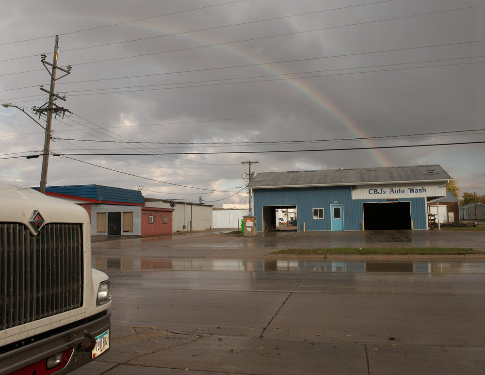 Rainbow east of Highway 69 - 2013   Uprooted