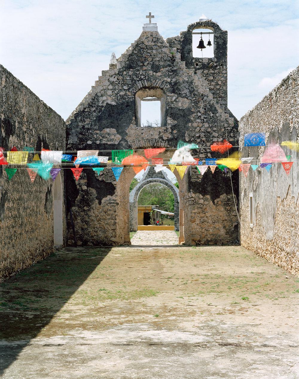 Mission church at Pixila, Mexico - 2010   Ruination