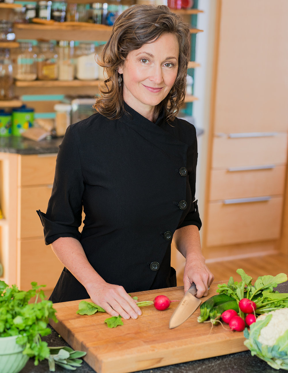 Cookbook author and Ayurvedic chef  Betsy Nelson