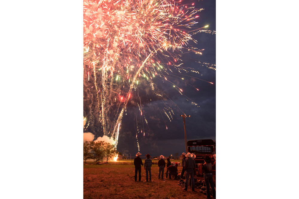 Fireworks at Wright County Fair   © Kristine Heykants 2018