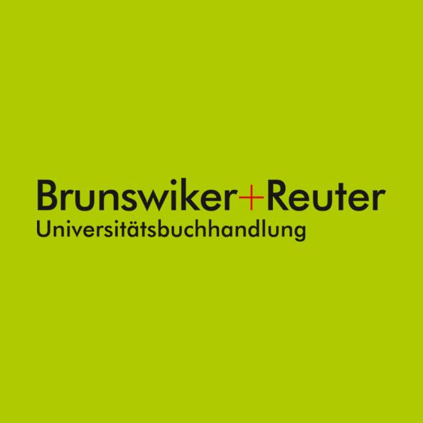 neues Logo für die fusionierten Buchhandlungen Brunswiker (Kiel) und Reuter (Hamburg)