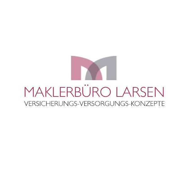 Logoentwurf für das Maklerbüro Larsen, Beringstedt
