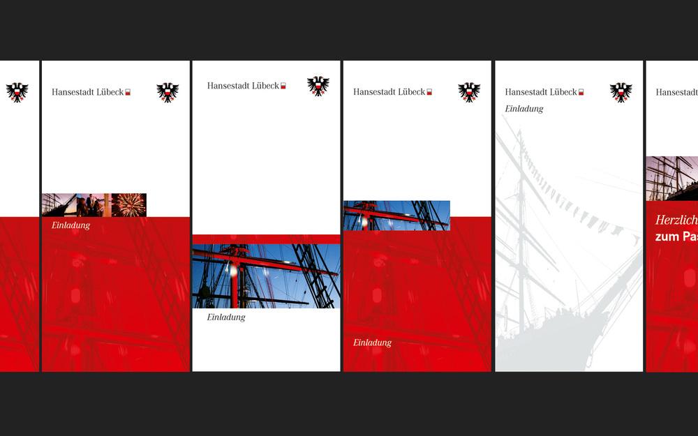 Entwürfe der Einladungskarte