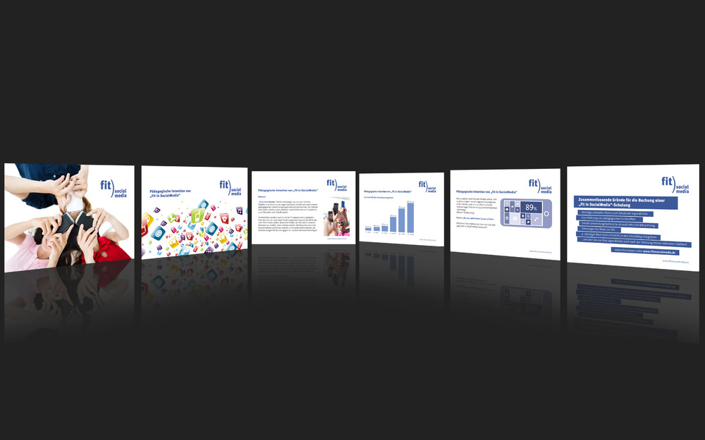 Entwurf einer Powerpoint-Präsentation