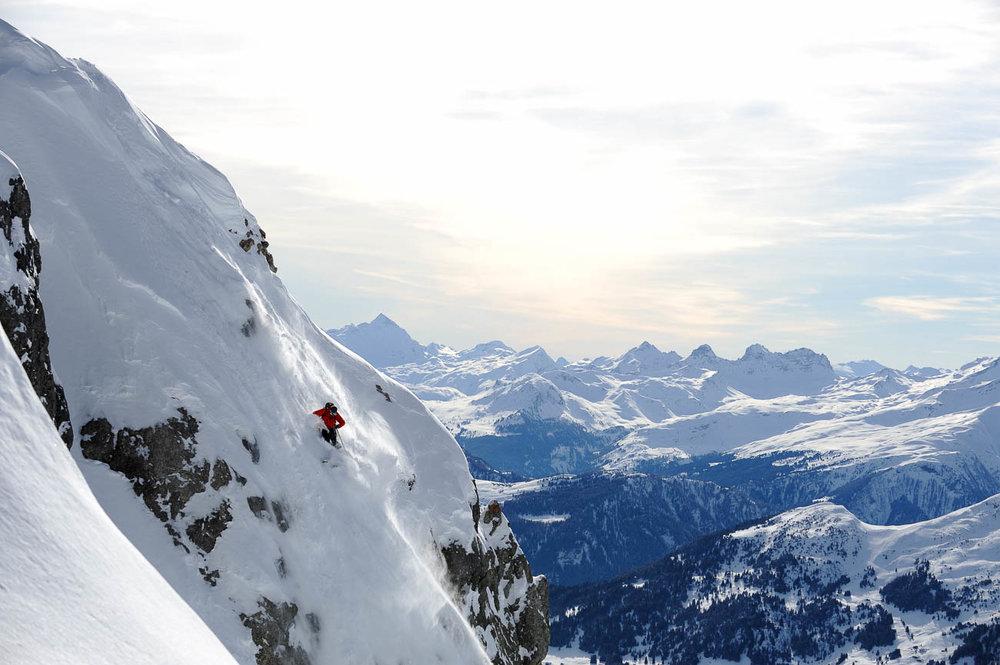 Skiing Lenzerheide