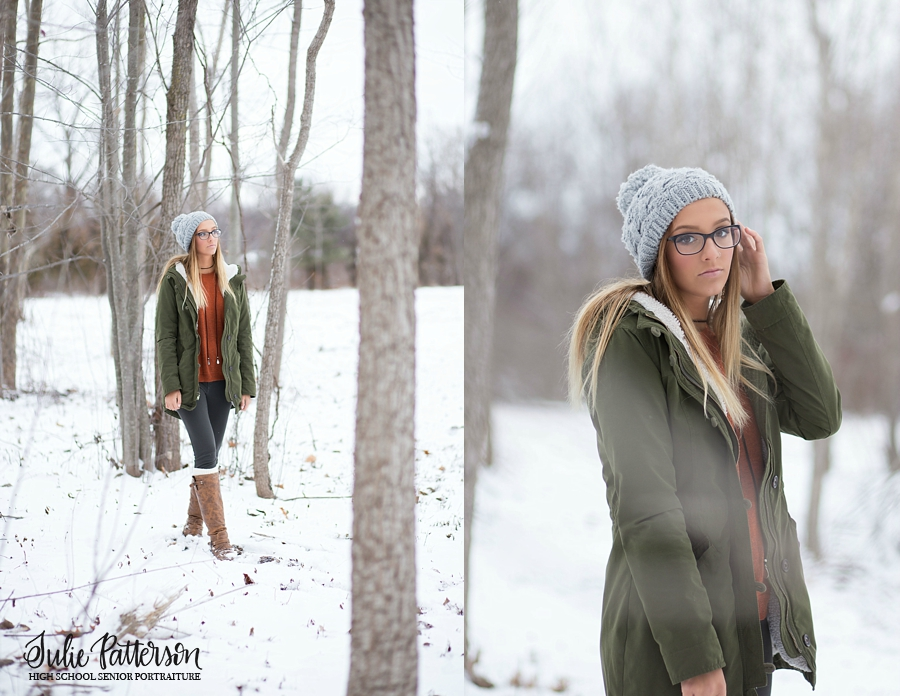 Plymouth Michigan High School Senior Photographer Julie Patterson Photography