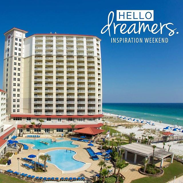 Join me on October 16 - 17 at @hiltonpensacolabeach Visit link in bio for details. Prepare to be inspired & motivated! -------- INSPIRATION WEEKEND 2015 Dreamers, this is YOUR weekend!  Inspiration Weekend '15 is a unique event designed to provide inspiration and motivation to live your best life.  The mantra is pretty simple. Focus your energy on living the life your heart desires. Set goals, create plans, work hard and celebrate along the way. In theory this sounds really simple until it's not. I know. I've been there. I believe that although setting goals and creating actionable plans can be tough, the even harder part is feeling like you're alone on an island trying to figure it all out.  That's why Hello Dreamers was founded. Join other women who are all passionate about living their very best life. #inspiration  #visitpensacolabeach #upsideofflorida #brunch