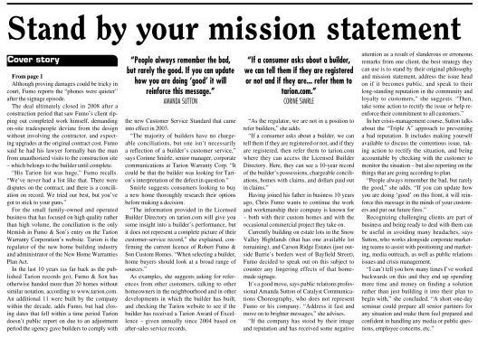 Huronia Business Times - Crisis communications