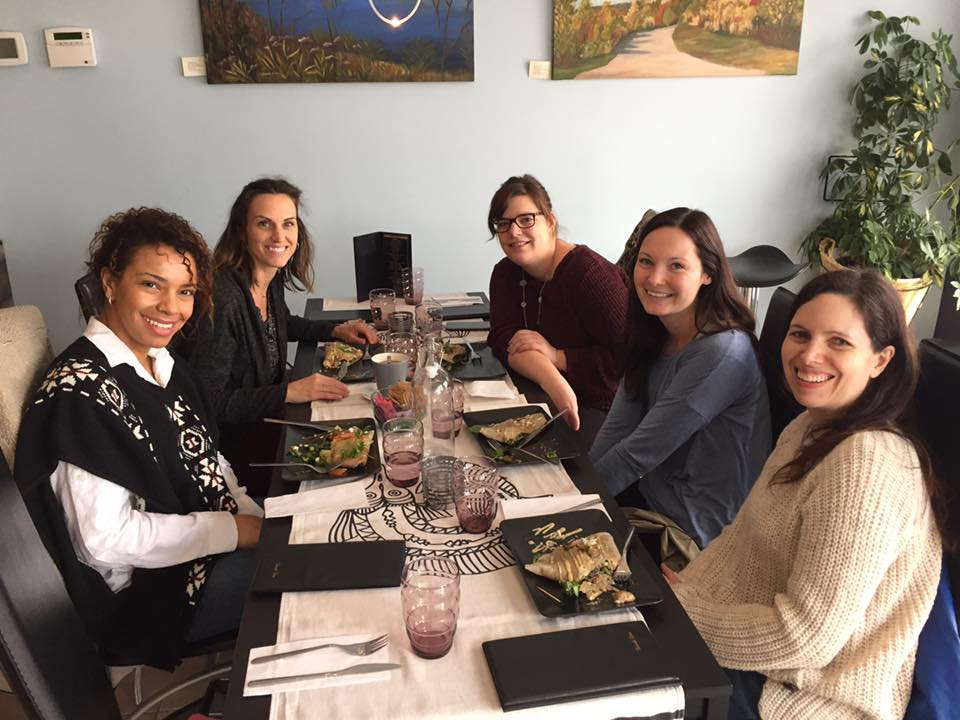 Welcome Candice! -  lunch 2016 #HereWeGrowAgain