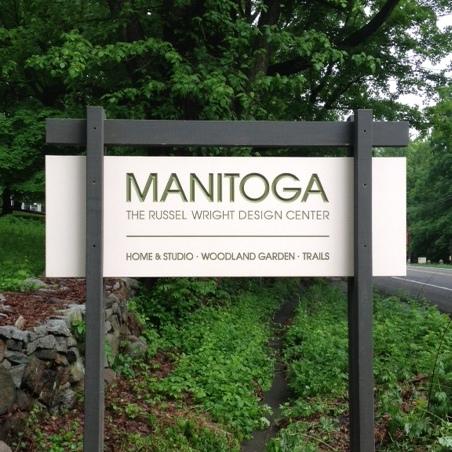 Manitoga Public  Entrance