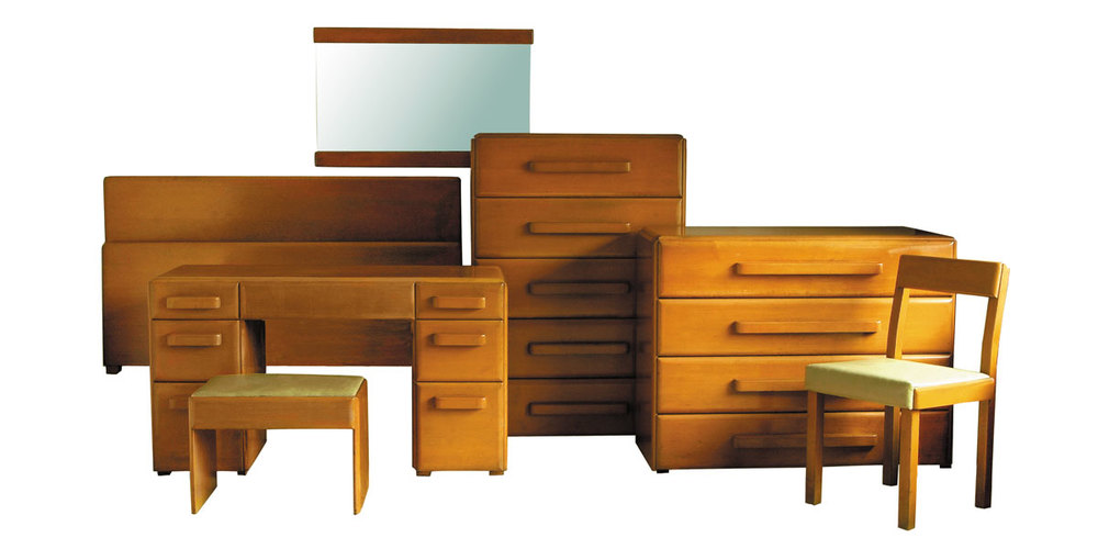 American Modern Bedroom Set