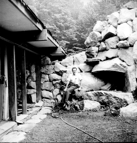 David Leavitt at Manitoga