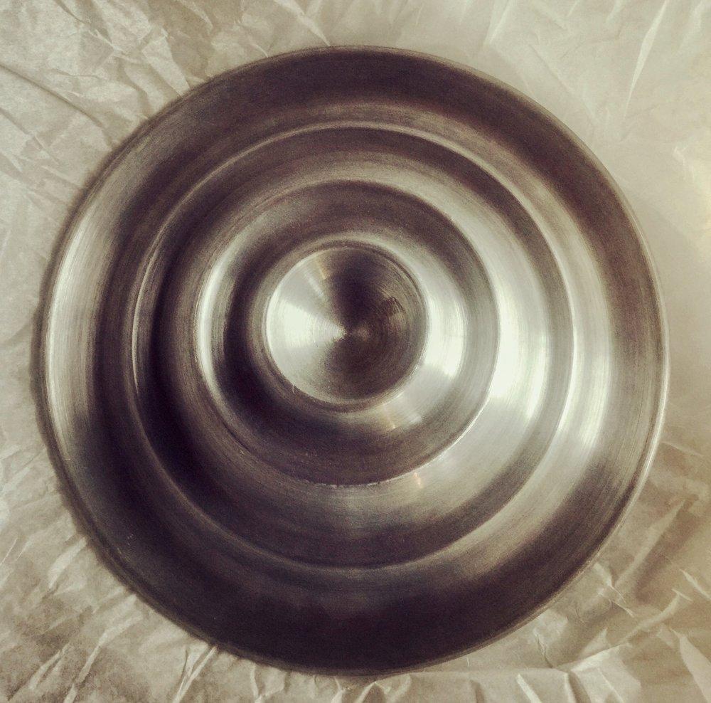 Spun Aluminum, Large Relish Rosette, 1933