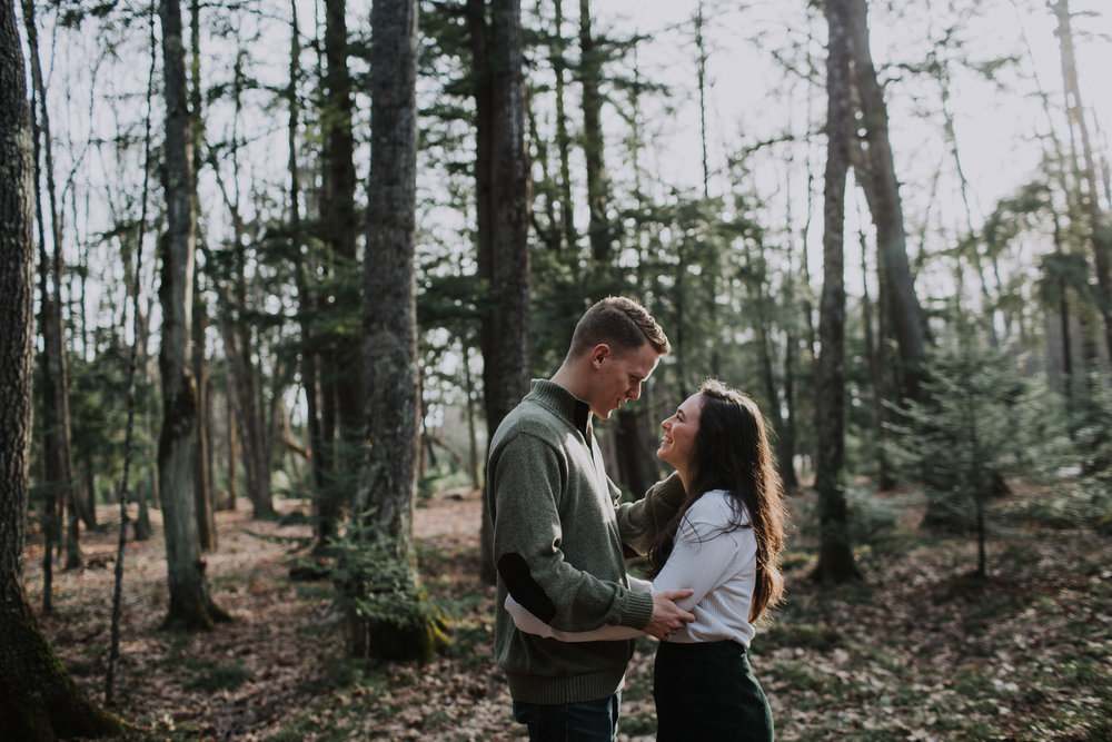 forest-rustic-engagement-wisconsin-b&n-12.jpg