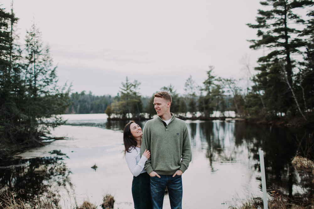forest-rustic-engagement-wisconsin-b&n-17.jpg