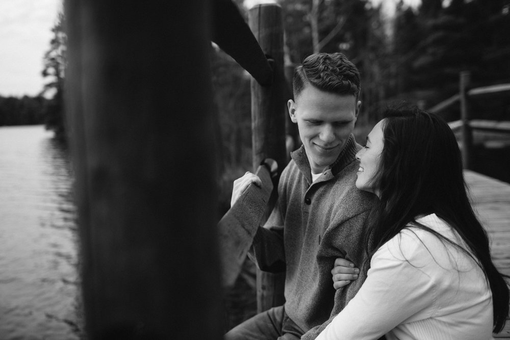 forest-rustic-engagement-wisconsin-b&n-25.jpg