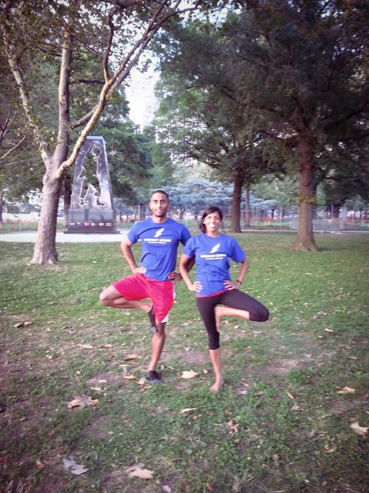 Summer Yoga in Battery Park