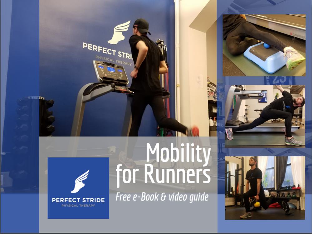 Mobility for Runners | Free Ebook - Runner need the appropriate mobility and strength to reduce risk of injury and to perform at their highest levels. Here's a guide to get you started on your performance journey.