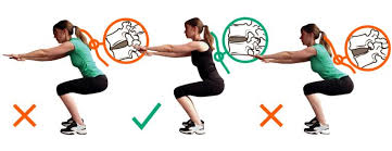 These types of images create fear of movement - keep reading to learn the best way to squat!