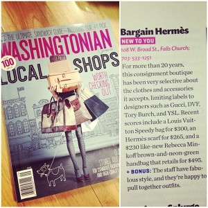 Washingtonian, September 2013. Read more here!