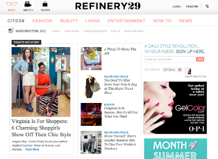 Refinery 29, July 2012. Read more here!