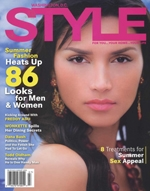 "DC Style Magazine July/August 2005 ""Debra Fabian chaceldony droplet necklace $140, NEW TO YOU..."" Read more here!"